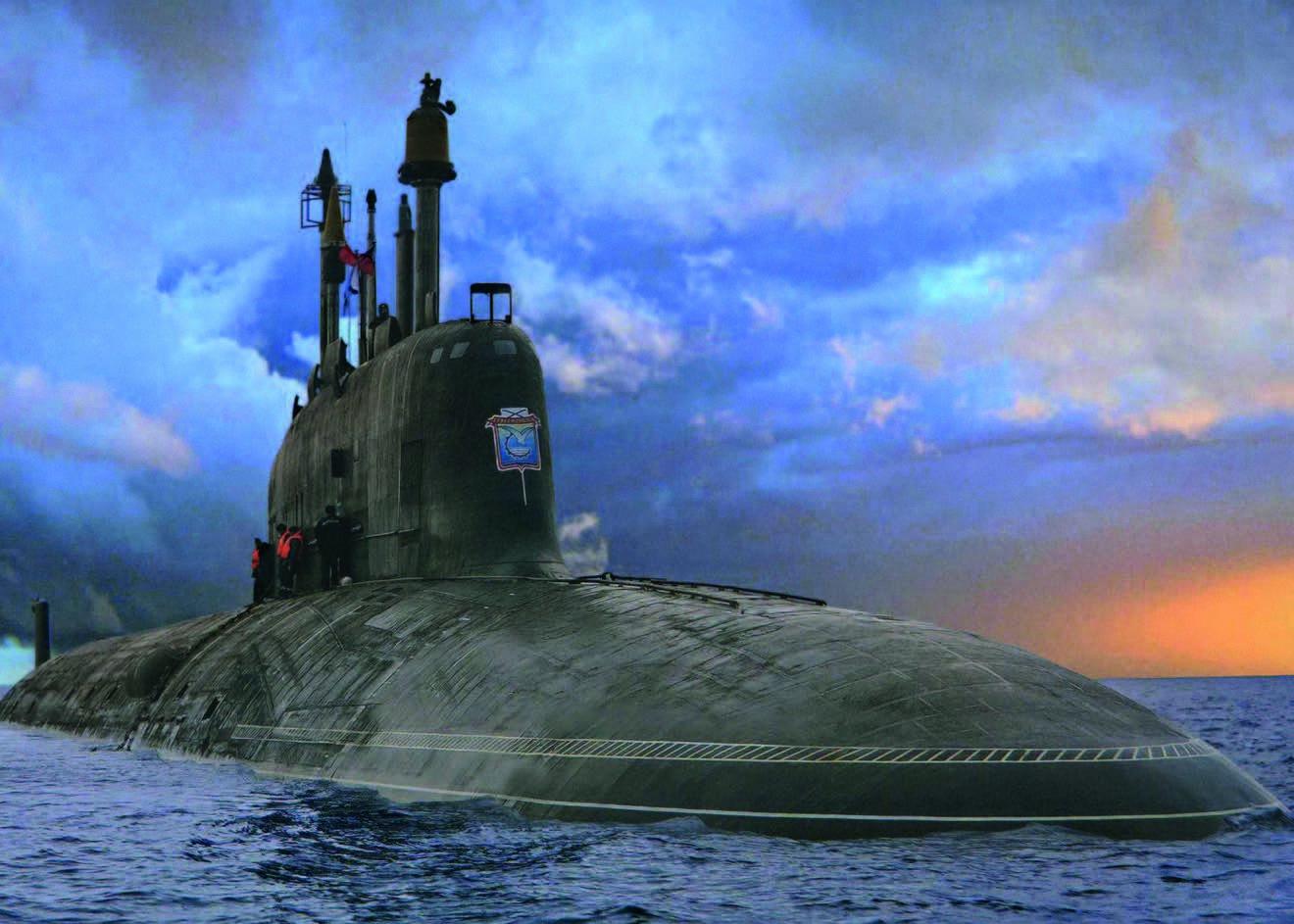 варшавянка подводная лодка 885
