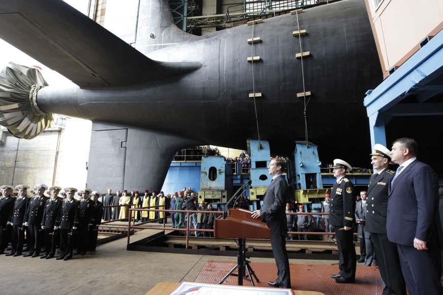 новая ядерная подводная лодка